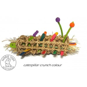 Caterpilliar Crunch Bunny Chew Toy Color