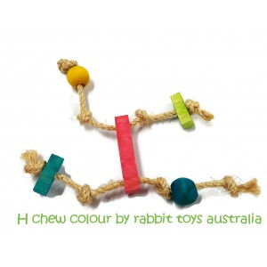 H Chew Bunny Toy Colour