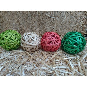 Christmas Willow Ball 8cm