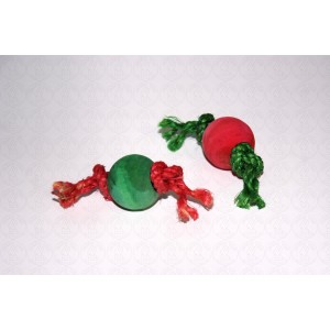 Christmas Mini Ball Bunny Toys