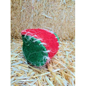 Christmas Loofah Ball with Bell