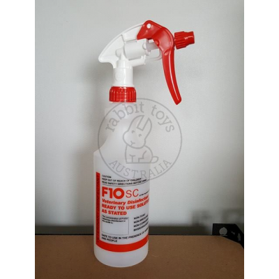 F10 Disinfectant Spray Bottle 500ml (empty)