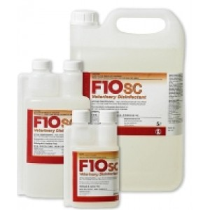 F10 SC 1lt Veterinary Disinfectant