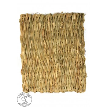 Woven Grass Hay Mat Bunny Chew Toy- Large