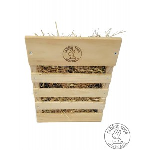 Hay Feeder for Indoor Rabbit Cage