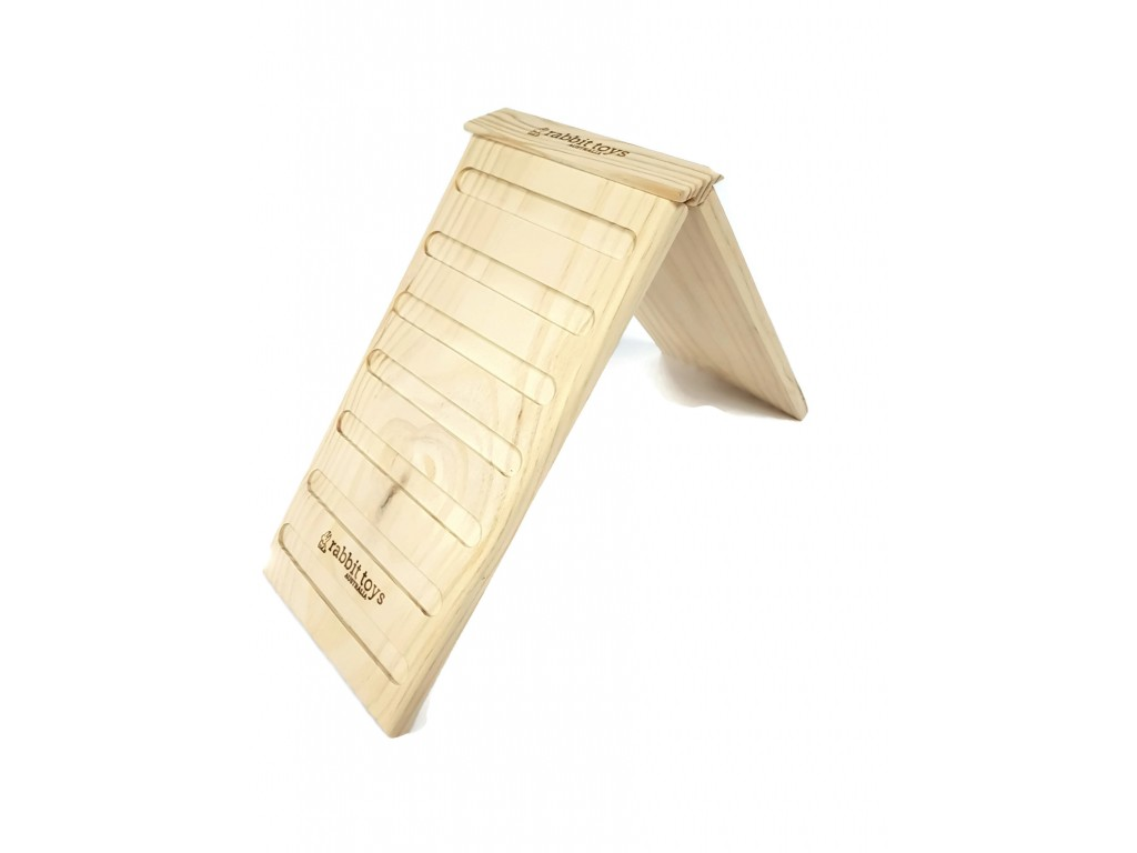 Wooden Ramp for Indoor Bunny Cages