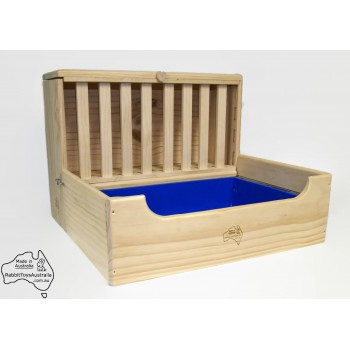 Rabbit Litter Tray with Hay Feeder -LARGE