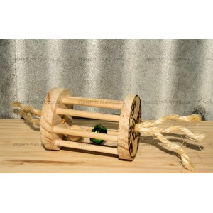 Rabbit Hay Roller Mini Natural