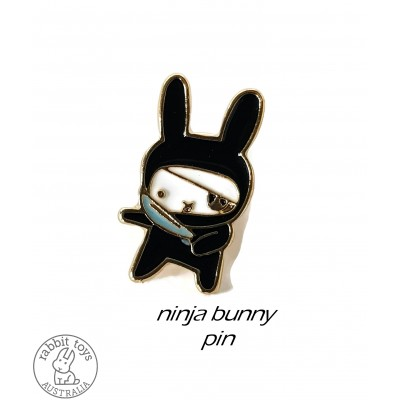 Collectable Pin Ninja Pirate Bunny