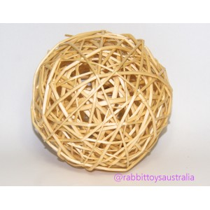 HUGE Willow Ball for Rabbits  20cm WITH FREE SHIPPING