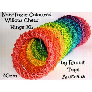 Willow Ring Bunny Chew Toy Extra Large - Colour