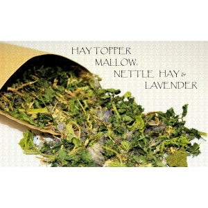 Organic Rabbit Treat Hay Topper~Mallow, Nettle, Lavender Mix- AUSTRALIAN GROWN!